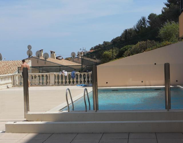 Location vacances Appartement - Roquebrune Cap Martin - RC150-piscine_low